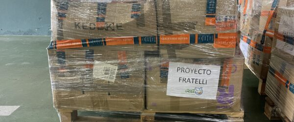 Ropa deportiva y mascarillas para el proyecto Fratelli en Líbano